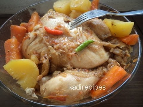 Boiled chicken recipe youtube boiled chicken recipe ccuart Images