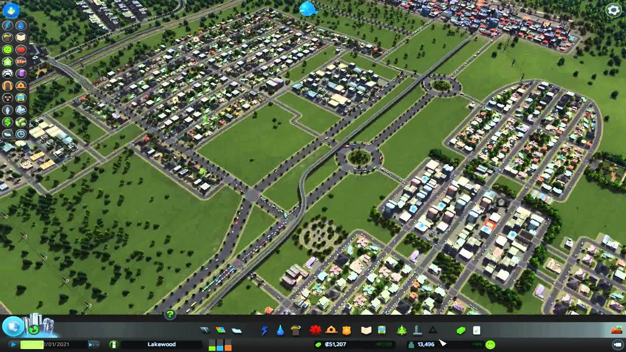 Cities Skylines Stadt Verschönern YouTube - Minecraft hauser verschonern