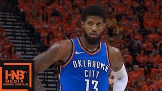 Oklahoma City Thunder vs Utah Jazz 1st Half Highlights / Game 3 / 2018 NBA Playoffs