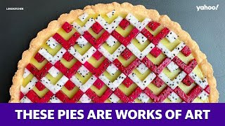 Pies and geometry create these edible works of art