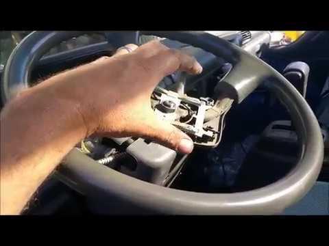 2000 Isuzu Chevy npr turn headlight wiper switch - YouTube