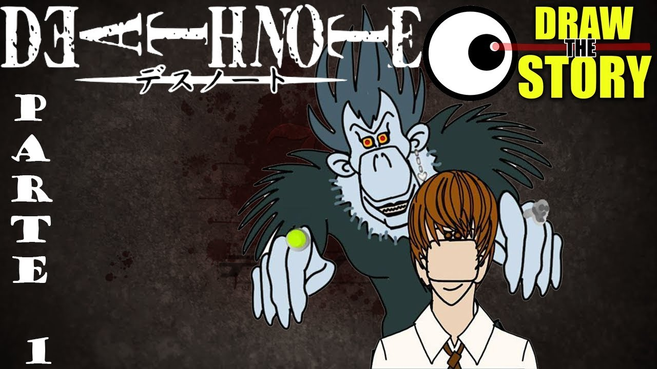 Download DEATH NOTE: L'anime de li mortacci sua (Parte 1 di 2) 📓 Draw The Story