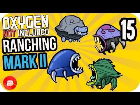 HATCH BREEDING TREE! #15 ▶Oxygen Not Included Ranching Upgrade Mark II◀ ONI Gameplay