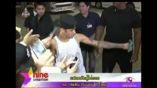 Истерия фанатов Джастина Бибера (Justin Bieber at the Airport in Bangkok)