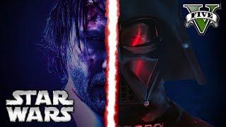 STAR WARS The Last Jedi GTA5 mods - Битва за планету Земля (Последний джедай)