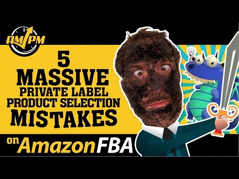 Top 5 Amazon FBA Product Selection Mistakes New Amazon Sellers Make - Kevin King - EP130