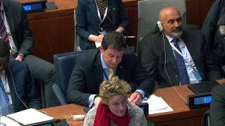 Д.А.Полянский на неформальной встрече Генеральной Ассамблеи ООН по ревитализации ООН