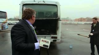 Горит Автобус, автономное пожаротушение для автомобиля, автобуса(, 2014-02-26T04:35:20.000Z)