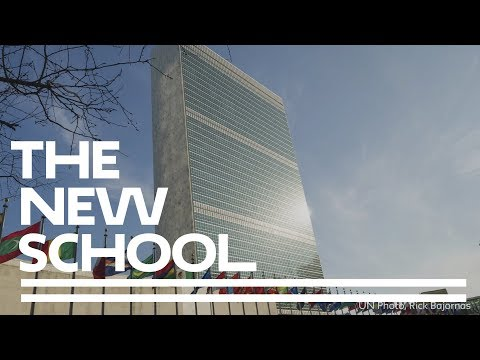 Explore United Nations Summer Study at The New School