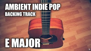ambient indie pop instrumental in e major