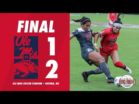 HIGHLIGHTS | Ole Miss Soccer Vs Arkansas 1 - 2 (10/25/20)