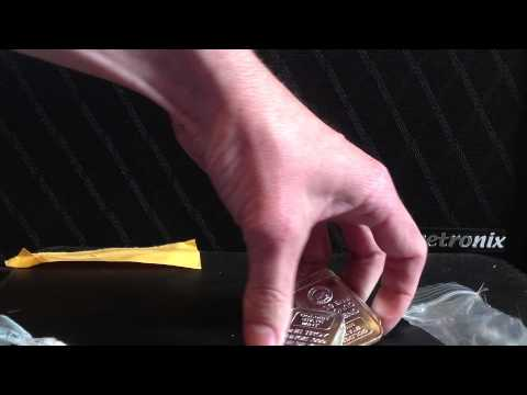 Silver Unboxing: One Ounce Silver Bars Golden State MInt