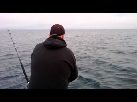 Jon fighting tuna