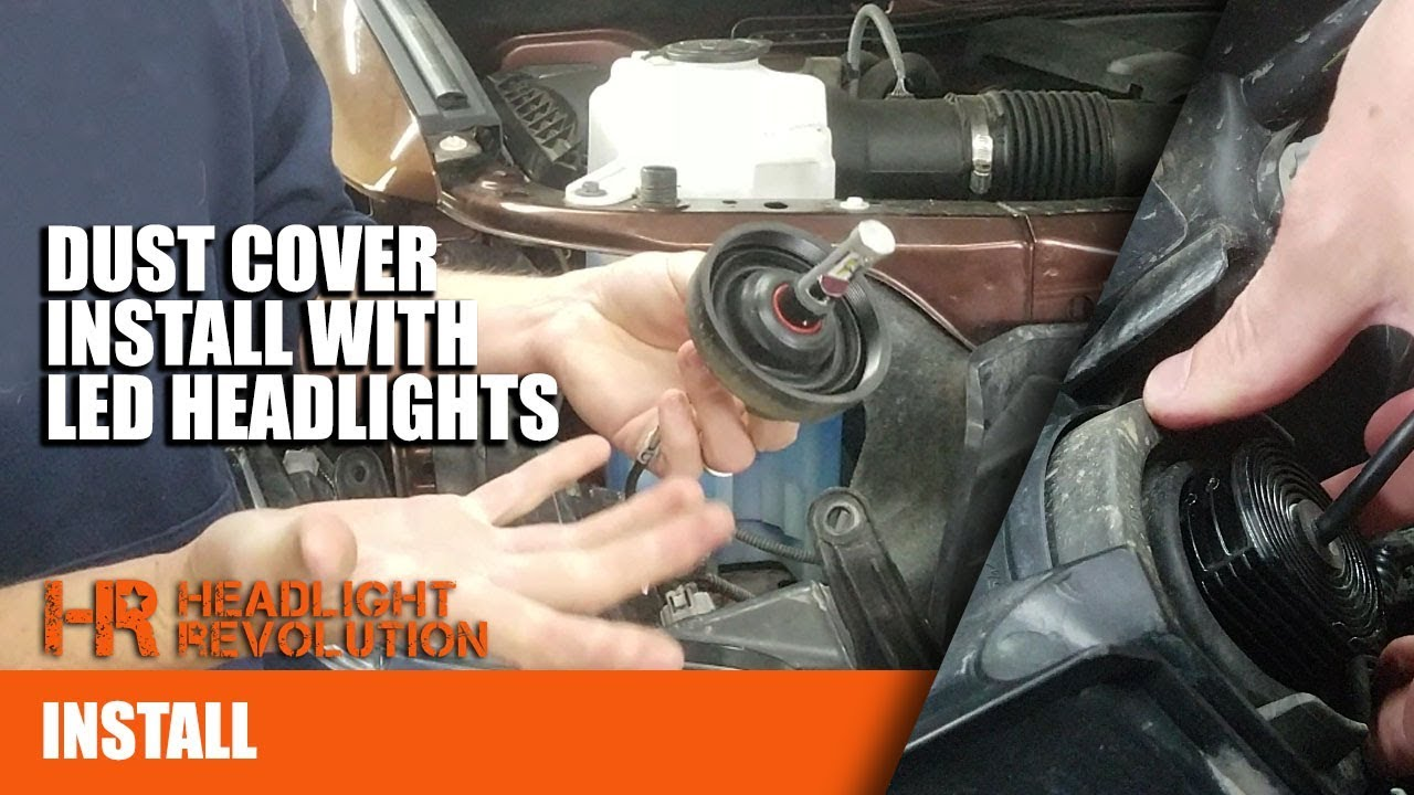 Using Dust Covers With Led Headlight Bulbs On The Toyota Tundra Ford Focus Wiring Harness Ebay Revolution