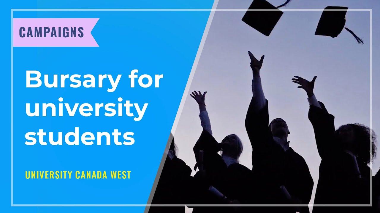 CAMPAIGNS: Bursary for university students