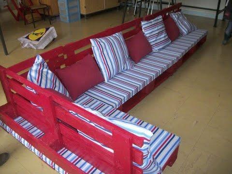 Мебель из поддонов своими руками. - YouTube