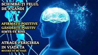 || Afirmații Pozitive || Gândește Și Atrage Tot Ce Este Pozitiv || Binauriale ||