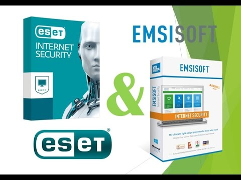 Тест ESET NOD32 Internet Security 10 & Emsisoft Internet Sec