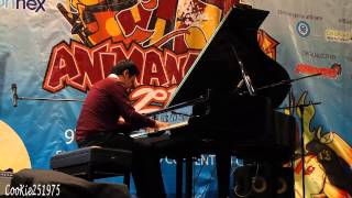 Animenz- Only My Railgun Live - (fripSide piano cover) - Animangaki 2014
