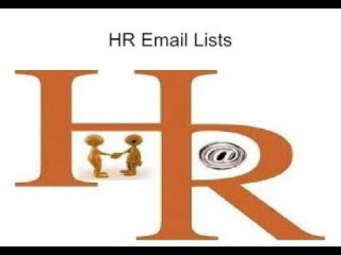 Get Customized HR Email List from Thomson Data