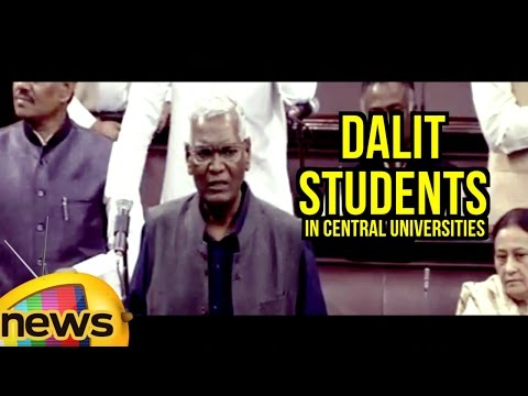 D Raja Aggressive Speech On Dalit Students In Central Universities | Rajya Sabha | Mango News