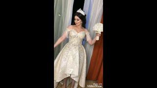 العروسه منه خطفت الانظار برقصها علي مهرجان بنت الجيران ❤️👰❤️