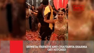 shweta-tripathi-tied-the-knot-with-rapper-chaitnya-sharma-in-goa