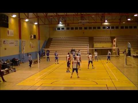 LIS Calais Merignac volley Elite 13/02/2016