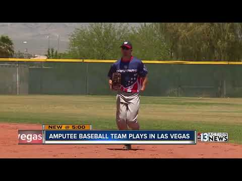 All-amputee baseball team hits the field in Las Vegas from YouTube · Duration:  1 minutes 44 seconds