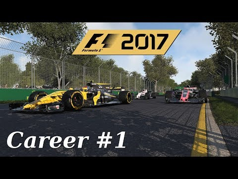 F1 2017 | Career Mode: Raggy Debut in Australia (Part 1)