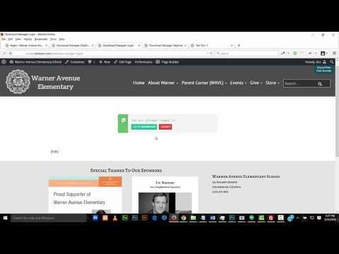 WordPress Download Manager Demo