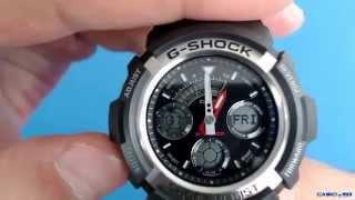 обзор часов casio g shock aw 590 1a