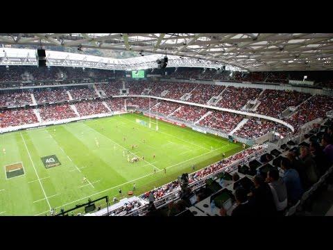 Coupo Santo au stade Allianz Riviera - RCT vs CLERMONT -