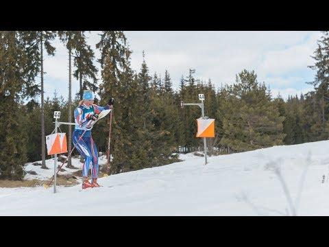 European Ski Orienteering Championships 2018. Long distance