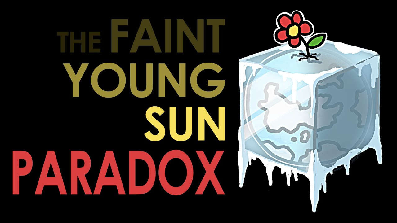 Image result for faint young sun paradox