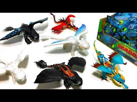 How To Train Your Dragon The Hidden World Mega Toys Unboxing!