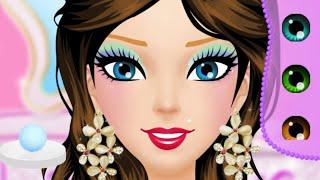 العاب بنات| لعبة صالون الأميرات 👑مكياج وتلبيس👗💄 جميلة جدا ..مع نونه😍