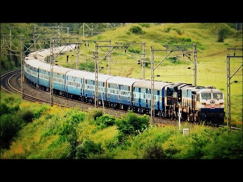 Clouds And Trains Show Near Talegaon