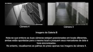 Veja a falha da cmera que filmou Garotinho preso