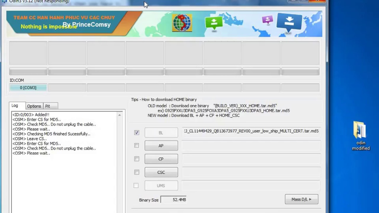 FAIL! SHA256 is Invalid Odin error Samsung S8/S8 plus Fix | How to fix Fail  Sha256 Samsung S8