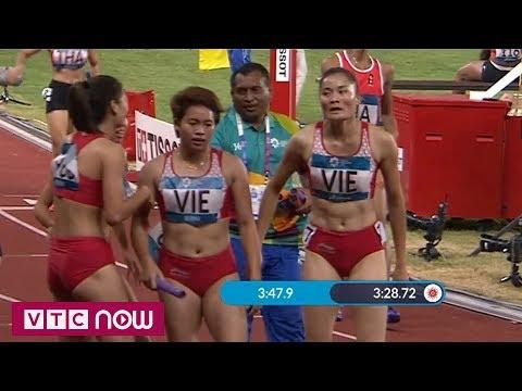 Điền kinh nữ ASIAD 2018: Tuyển Việt Nam giành HCĐ 4x100m | VTC Now