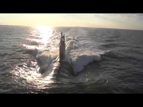 Newport News Shipbuilding - USS Minnesota (SSN 783) Nuclear Submarine First Sea Trials [10