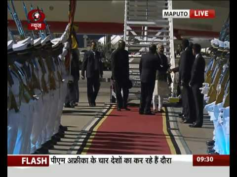 PM arrives in Mozambique capital Maputo