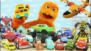 Disney Pixar Автомобили Игрушки Трансформеры Горячие Колеса, Молния Маккуин и Томас Поезд. Чайники Автомобильные