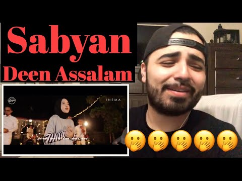 Reacting to Cover By Sabyan SingingDeen Assalam