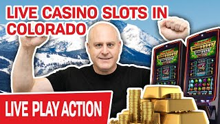 🔴 LIVE HIGH-LIMIT CASINO SLOTS in Colorado 🤔 How Many JACKPOTS Will I Win?