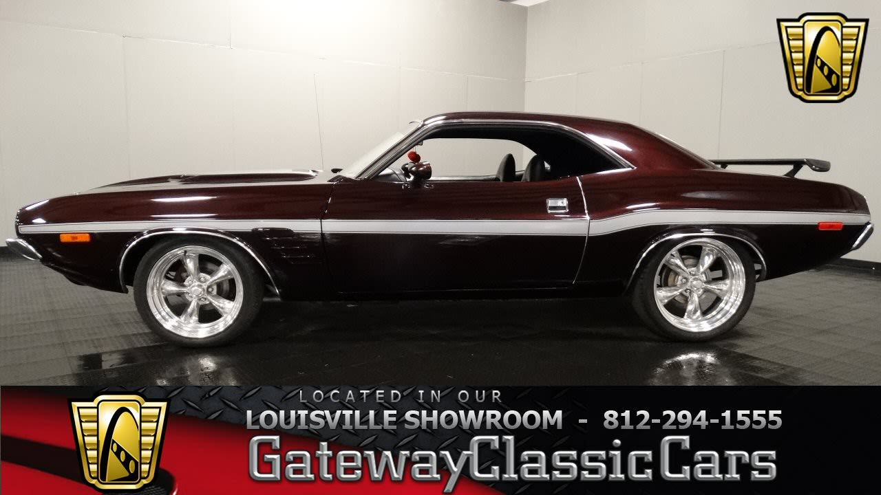 2015 Dodge Barracuda >> 1973 Dodge Challenger - Louisville Showroom - Stock #1006 ...