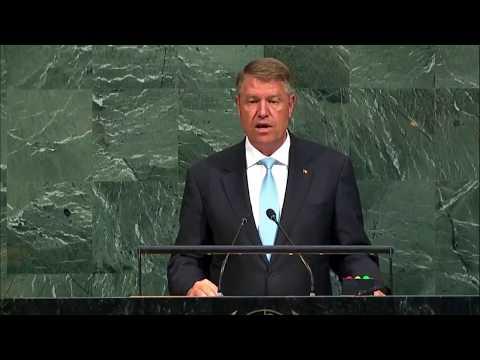 STIRIPESURSE.RO Discursul lui Klaus Iohannis la ONU (2017)
