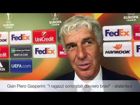 "Gian Piero Gasperini: ""I ragazzi sono stati davvero bravi"""