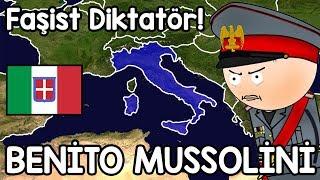 Benito Mussolini Hayatı Haritalı Hızlı Anlatım